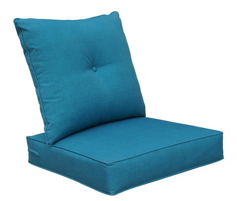 Teal Blue Deep seat set