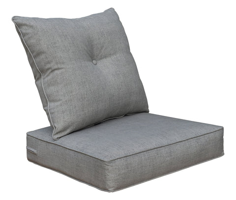 Sliver/Light Grey Deep Seat set