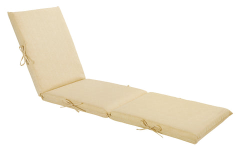 Cream Chaise Lounge