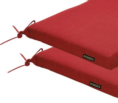 Rust Red Patio Seat Pad (Set of 2)