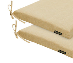 Cream Patio Seat Pad (Set of 2)