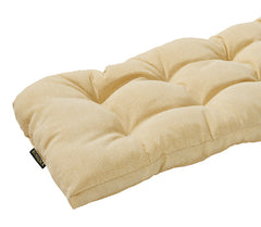 Cream Wicker Loveseat Cushion