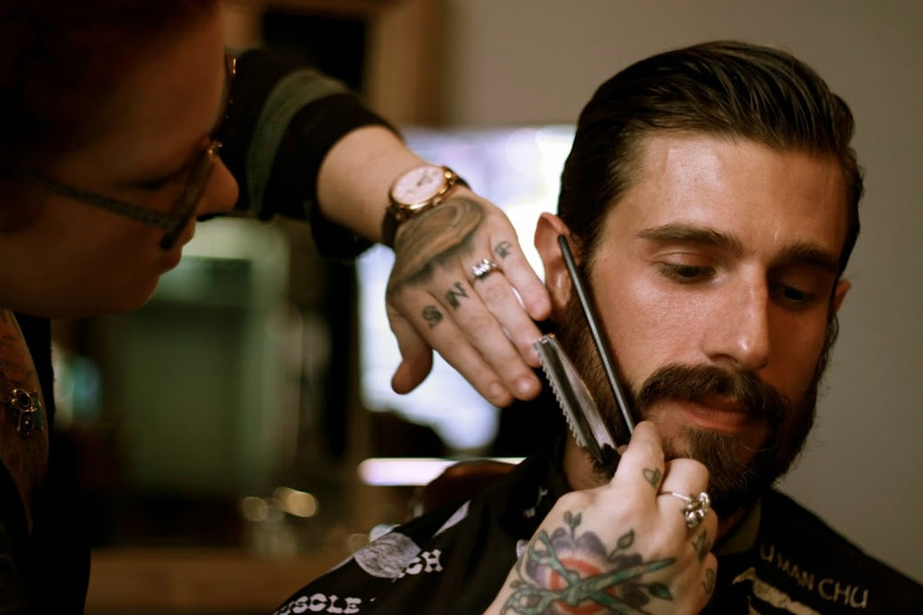 Dapper Gents Straight Razor Beard Trim