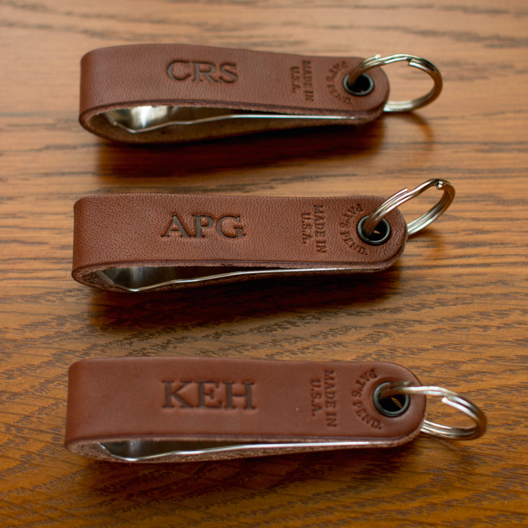 Custom Bottle Openers with monogram initials