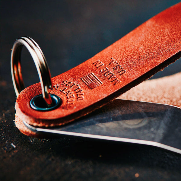Snake Bite Keychain Bottle Opener - Brown