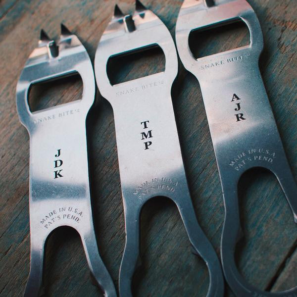 Personalized Mamba Bottle Opener and Bar Tool