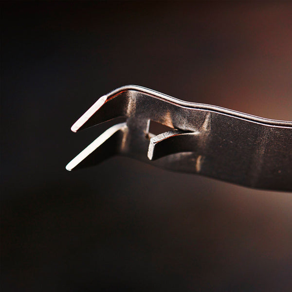 Snake Bite U.S. Steel Bottle Opener Detail