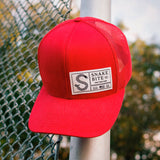 Standard Series Snapback Hat: Hometown Red Edition
