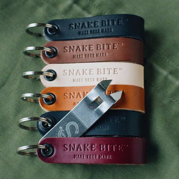 Bottle Opener Leather Color Options