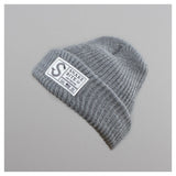 Snake Bite beanie knit cap (grey)