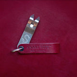 Keychain bottle opener (blood red)