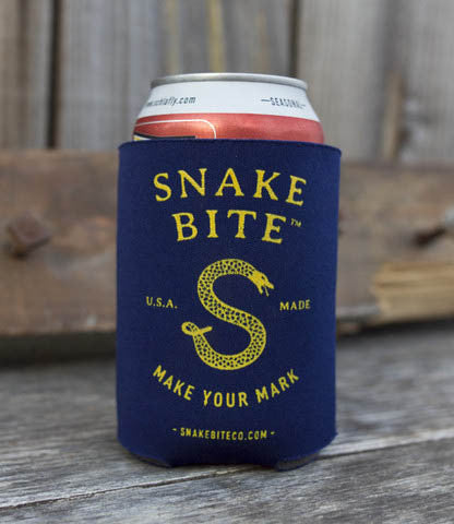 Snake Bite coozie in party kit