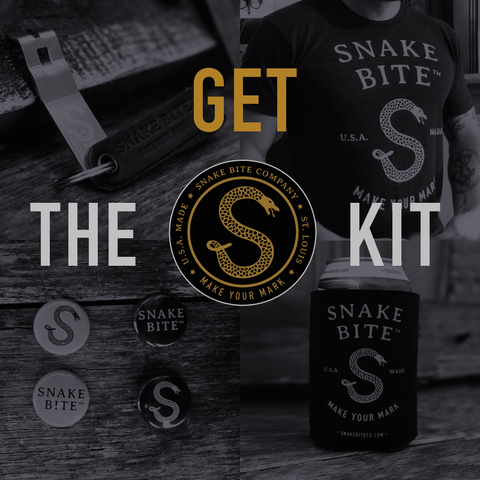 Snake Bite beer lover's gift set
