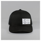 Snap back front view