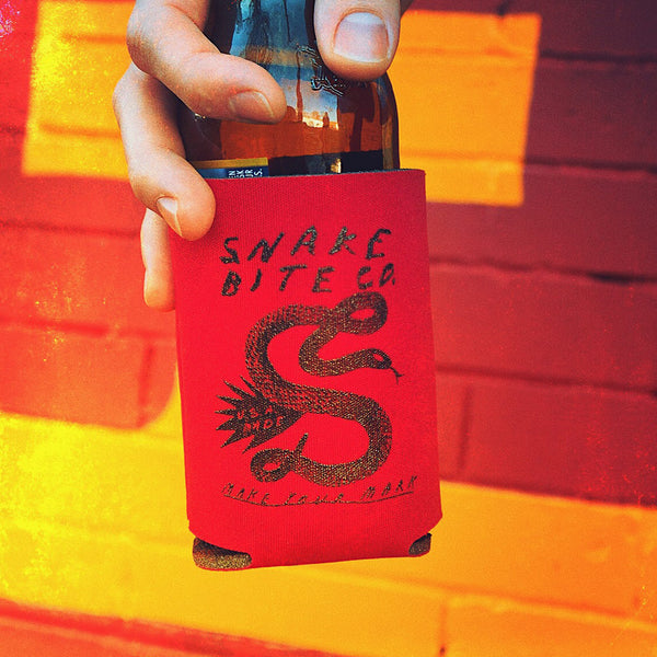Tyler Gross x Snake Bite Red Coozie