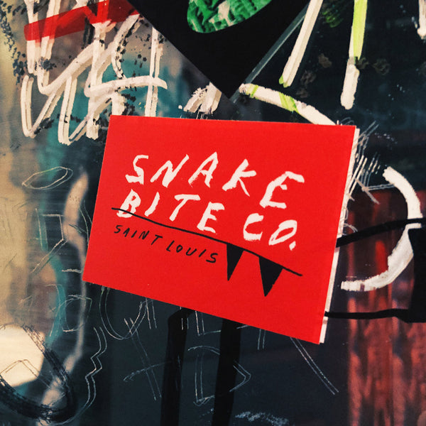 Tyler Gross x Snake Bite Red Sticker