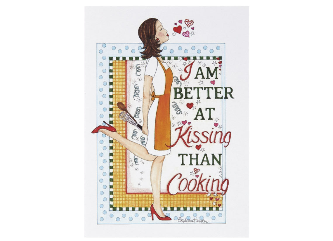 Kissing Cook