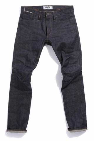 M2006KA01RAW-Ergonomic cinch back skinny jean/raw