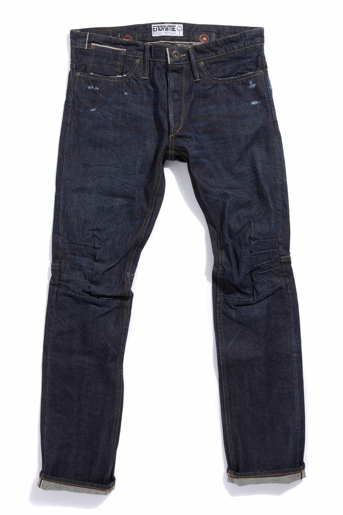 M2006KA01WIR-Ergonomic cinch back skinny jean/worn in raw