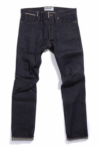 M2006KA07RAW-Ergonomic cinch back skinny jean/raw