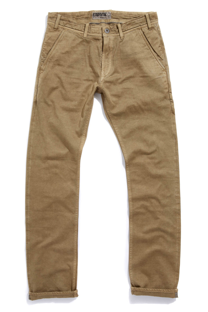 M2009KS01PID-Chino jean/pigment dyed