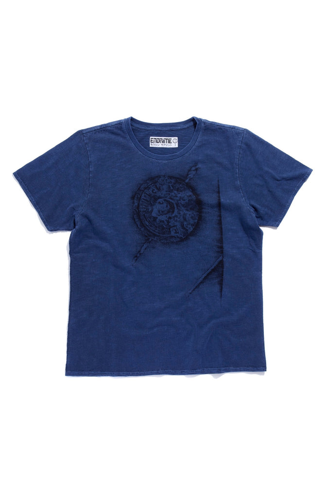 M5013GH01PID Navy-Graphic logo rivet tee