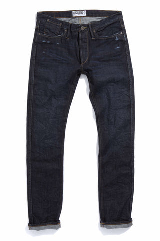 M1019KU02WIR-Core jean – felled seamed – no selvage/worn in raw