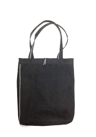 A9065LA01RAW-Selvedge tote bag/raw