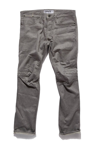 M2006AH06RAW-Ergonomic cinch back skinny jean/raw