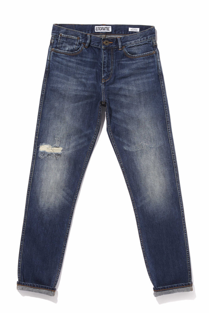 L1062KU02DAI-High waisted/dawn indigo
