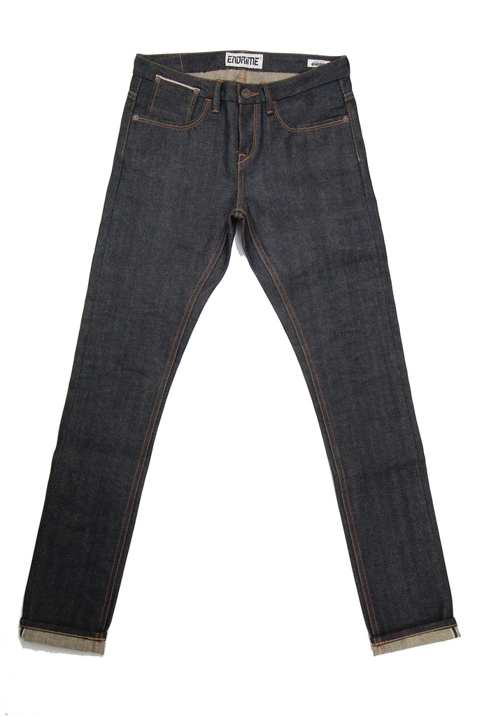 L1110KA01RAW -New skinny selvage jeans/raw