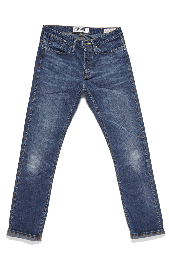 M1019KU02ISU-Core jean-felled seamed-no selvage/indigo sunrise