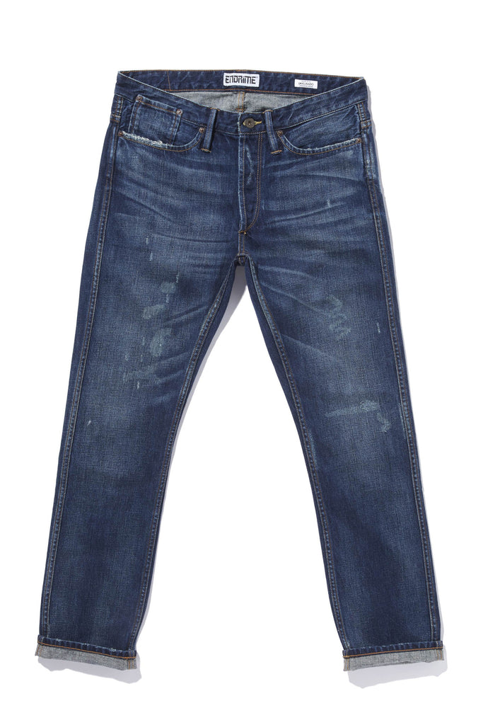 M1019KU02WIS-Core jean – felled seamed – no selvage/winter solstice