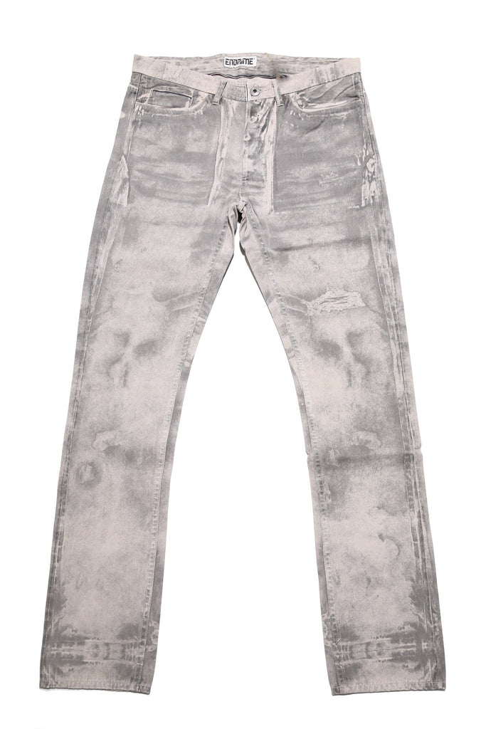 M1024KS01PID-Printed chino/pigment dyed grey