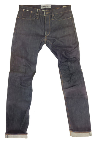 M2006CO01RAW-Ergonomic cinch back skinny jean/raw