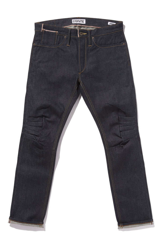 M2006RKS04RAW -Ergonomic cinch back skinny jean/raw