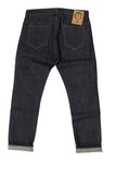M2006RKU07RAW -Ergonomic cinch back skinny jeanin in stretch selvedge/raw
