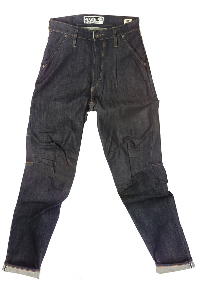 M2008CO01RAW-Ergonomic knee dart carpenter jean/raw