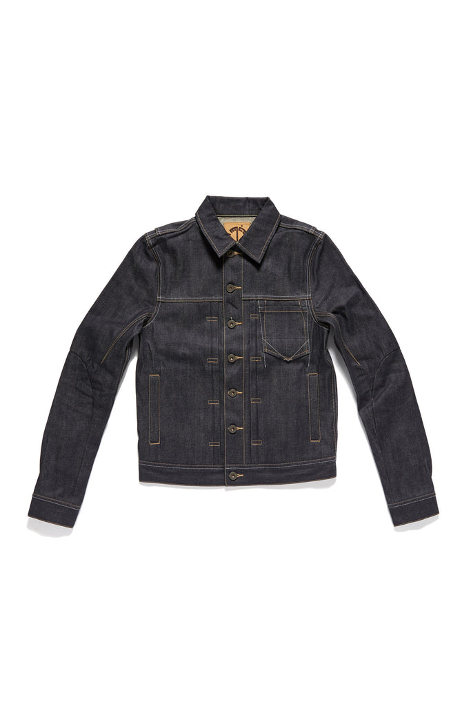 M4090KU05RAW-Dart manifpulation trucker jacket