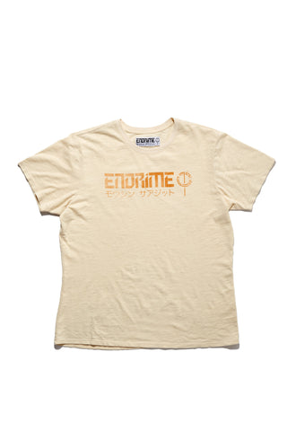 M5010GH01PID Cream -Graphic logo tee