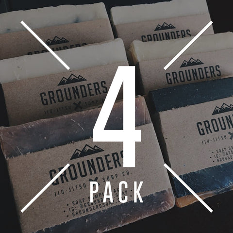 *MIX 'N MATCH* - Grounders BJJ Soap - 4 Pack
