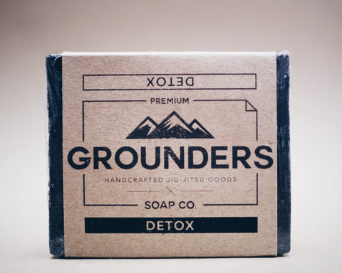 Grounders DETOX - Activated Charcoal Soap