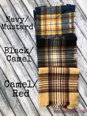 Blanket Scarves (6 Colors)