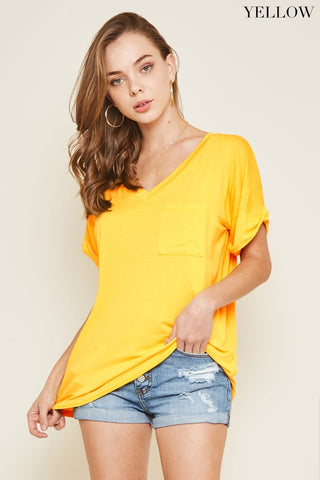 Casual Boyfriend Tees (9 Colors)