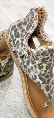 Leopard Journey Sandals by Very G