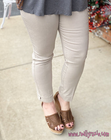 Solid Ankle Pants (2 Colors)