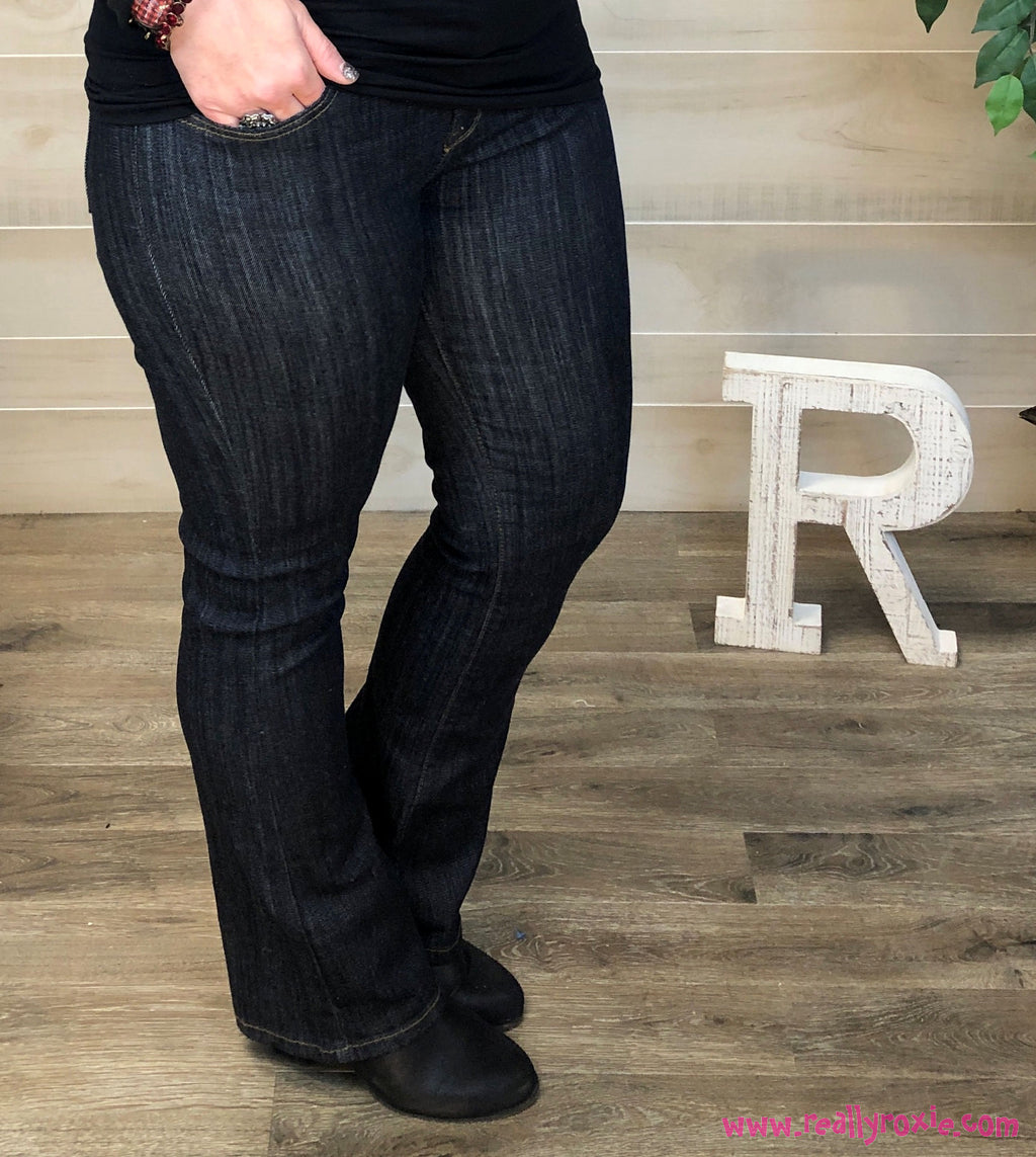 Dark Wash Bootcut Jeans by Judy Blue