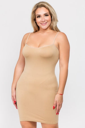 Curvy Thin Strap Camis (9 Colors)