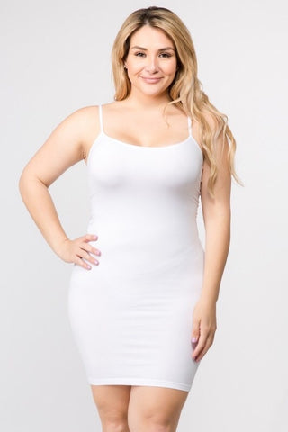 Curvy Thin Strap Camis (11 Colors)