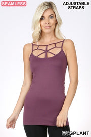 Webbed Seamless Camis (18 Colors)